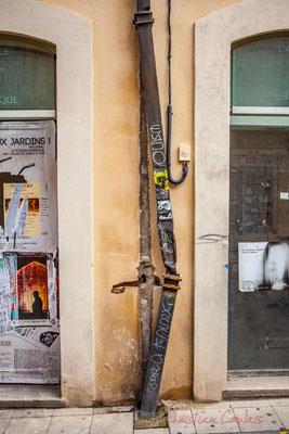 """48 """"Hors d'eau"""" my Street Art, Arles"""