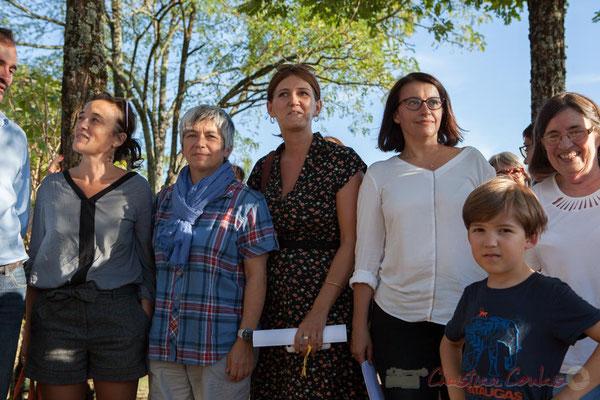 Mathilde Feld, Nathalie Aubin, Anne-Laure Fabre-Nadler, Cécile Duflot, Marine Schenegg