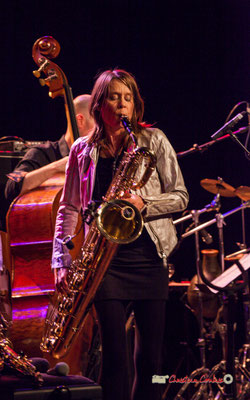 Céline Bonacina; Céline Bonacina Crystal Quartet; Festival JAZZ360 2019. Cénac, 08/06/2019