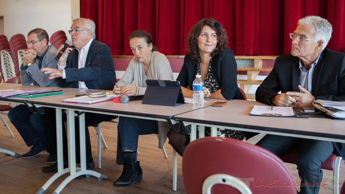 Jean-Marie Darmian, Mathilde Feld, Anne-Laure Fabre-Nadler, Gérard Poisbelaud