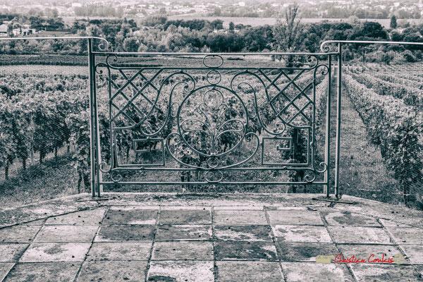Balcon vers le Sud, Langon, Domaine de Malagar. Centre François Mauriac, Saint-Maixant. 28/09/2019 Reproduction interdite - Tous droits réservés © Christian Coulais