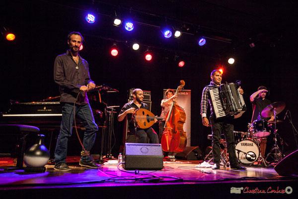 Eym Trio; Elie Dufour, Mohamed Abozekry, Yann Phayphet, Marian Badoï, Marc Michel. Festival JAZZ360, 09/06/2017