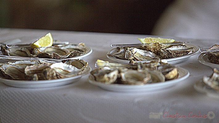 """""""Assiette d'huitres"""", Festival JAZZ360 2012, château Lestange, Quinsac, dimanche 10 juin 2012 2012"""