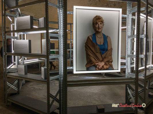 """2 """"Détenues"""" exposition photographique de Bettina Rheims. Château de Cadillac, Centre des Monuments Nationaux. Photographe : Christian Coulais. 04/11/2018"""