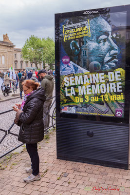 Du 3 au 13 mai 2018, Commémorations de l'esclavage, la traîte négrière & leurs abolitions. Semaine de la Mémoire. Place de la République, Bordeaux. 01/05/2018