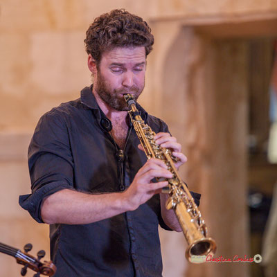 Maxime Berton; François Poitou Quintet. Festival JAZZ360 2019, Cénac. 07/06/2019