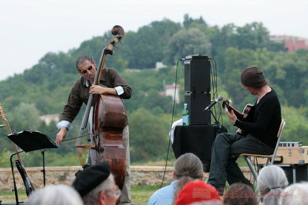 Iazid Ketfi, Philippe Bayle; Philippe Bayle Trio. Festival JAZZ360 2011, Quinsac. 05/06/2011