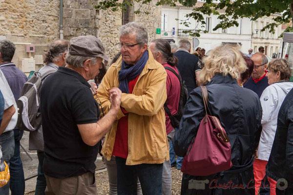 L'apéritif offert par la Mairie de Camblanes-et-Meynac réunit riverains, bénévoles et partenaires. Festival JAZZ360 2016