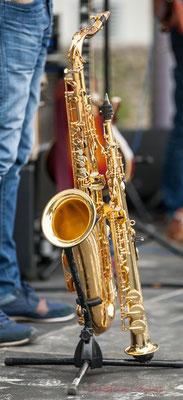 Saxophone et clarinette de Thomas Lachaize. Festival JAZZ360 2016, Quinsac, 12/06/2016