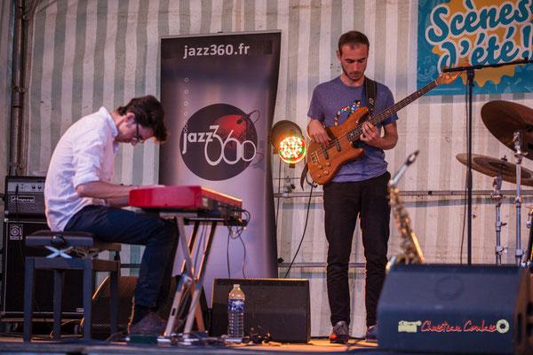 Adrien Brandéis, Romann Dauneau; Adrien Brandéis Quintet, Festival JAZZ360 2019, Langoiran. 06/06/2019