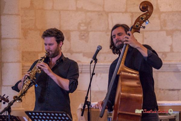 Maxime Berton, François Poitou; François Poitou Quintet. Festival JAZZ360 2019, Cénac. 07/06/2019