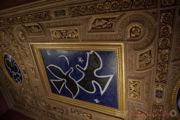 Salle Henri II, peintures de Georges Braque, Musée du Louvre