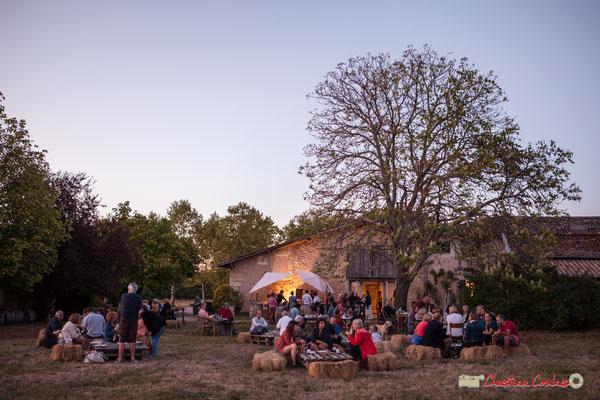 Restauration sur place. Domaine de Sentout, Lignan-de-Bordeaux, 07/09/2018