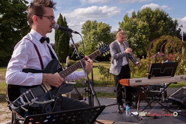 Julien Jolis, José Baloche; Jujubees Swing Combo. Festival JAZZ360, Cénac. 08/06/2019