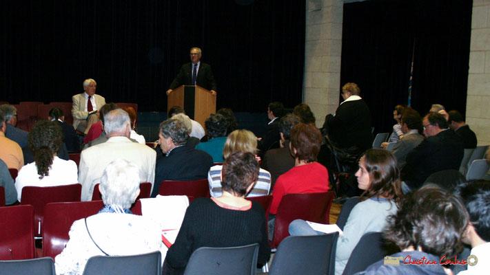 Jean-Marie Darmian, Vice-président du Conseil général de la Gironde, Lancement officiel de l'opération nationale Arbres de la Laïcité. Créon, samedi 19 juin 2010