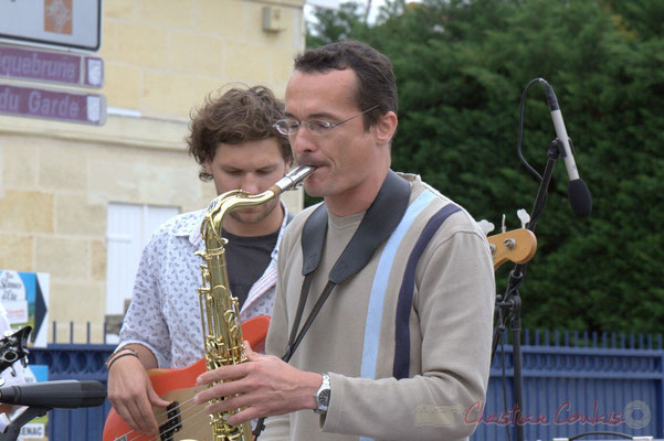 Festival JAZZ360 2012, premier Atelier Jazz de l'I.R.E.M. (Institut Régional d'Expressions Musicales de Bordeaux). Cénac, 09/06/2012