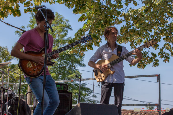 Tom Ibarra, Jean-Marie Morin; Tom Ibarra Group. Festival JAZZ360, 10 juin 2017, Camblanes-et-Meynac