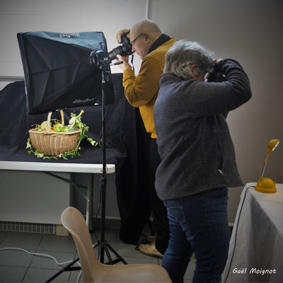 Nature morte; intervenants et mises en situation, Atelier Photo Numérique de l'AMAC. 09/11/2019 Photographie © Gaël Moignot