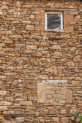 Mur de pierres / Muro de piedra. Liédena, Navarra