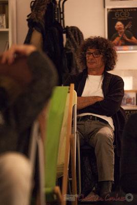 Lulu Bret le batteur de Cauvin Except. Le Rocher de Palmer, 12/12/2015. Reproduction interdite - Tous droits réservés © Christian Coulais