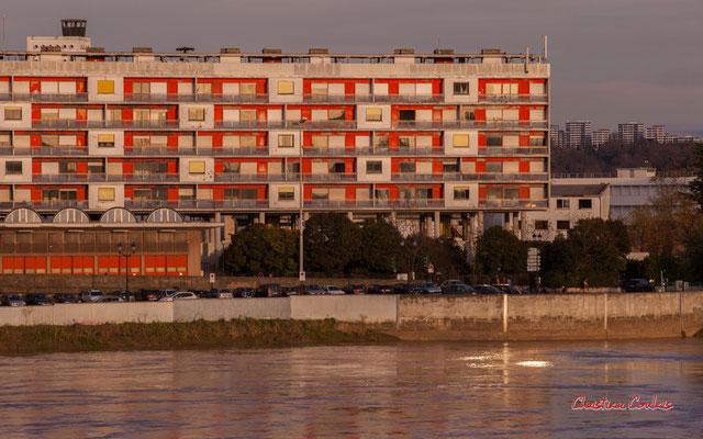 L'organisation générale de la caserne de la Benauge fait référence à l'école du Bauhaus de Walter Gropius, à la théorie de Le Corbusier, cherchant constamment la lisibilité des volumes, le fonctionnalisme à travers des espaces simples.© Christian Coulais