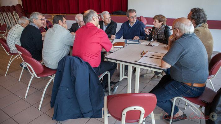 Gérard Poisbelaud, Réflexion sur les équipements structurants, Conseil consultatif citoyen du canton de Créon, Sadirac