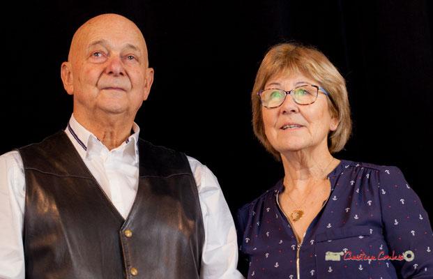 Daniel Branche et Maryse Pinol photographiés par Christian Coulais. Cénac, samedi 2 février 2019