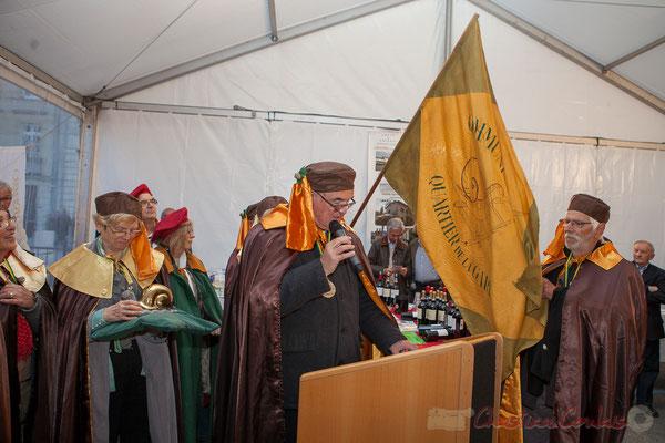 Jean-Marie Darmian, Maitre Cagouillard déclare le ban de la confrérie ouvert