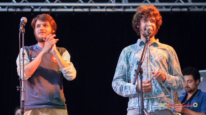 Tanguy Bernard, Jaime Chao; le Parti Collectif. Festival JAZZ360 2019, Latresne, 09/06/2019