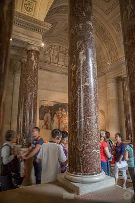 Fresques de Botticelli pour la villa Lemmi, XVe siècle, Salles Percier et Fontaine, Musée du Louvre