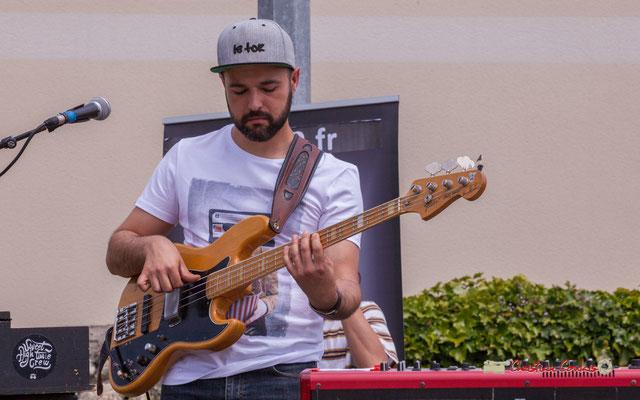 Victor Bérard; The Protolites. Festival JAZZ360 2019, Quinsac. 09/06/2019