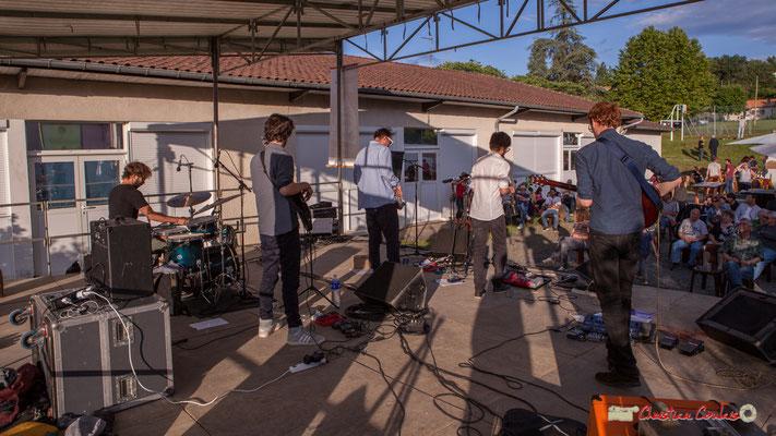 Oggy & The Phonics et son public. Festival JAZZ360 2018, Langoiran. 07/06/2018