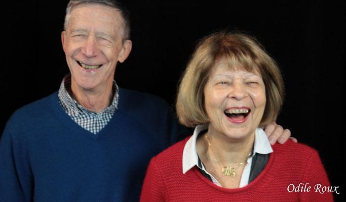 Michèle et Gérard Pointet photographiés par Odile Roux. Cénac, samedi 2 février 2019