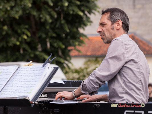 Loïc Cavadore; Loïc Cavadore Trio. Festival JAZZ360 2019, Camblanes-et-Meynac. 08/06/2019