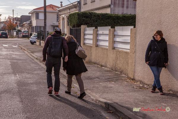 Ellrik et Mélanie le couple qui a perdu ses clés. Regards en biais, Cie La Hurlante, Hors Jeu / En Jeu, Mérignac. Samedi 24 novembre 2018