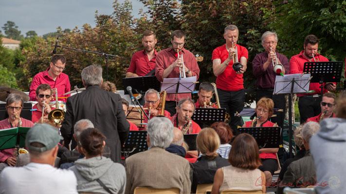 Big Band Jazz de l'école de musique de Cenon, dirigé par Franck Dijeau. Festival JAZZ360 2016, Cénac, 11/06/2016