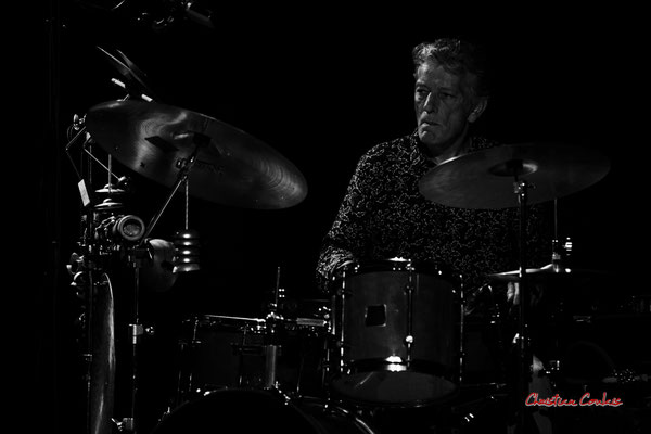 Pierre Thibaud ; Christian Paboeuf Quartet. Festival JAZZ360 2021, Cénac, samedi 5 juin 2021. Photographie © Christian Coulais