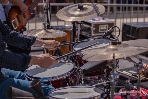 Antonin Mallaret ; Bushmen. Festival JAZZ360 2021. Quinsac, dimanche 6 juin 2021. Photographie © Christian Coulais