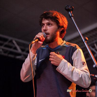Tanguy Bernard; le Parti Collectif. Festival JAZZ360 2019, Latresne, 09/06/2019