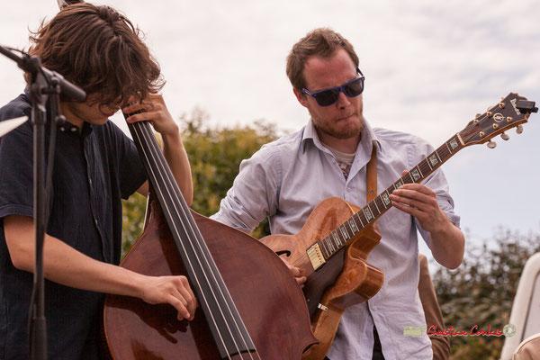 Esteban Bardet, Nicolas Allard; Atelier Jazz du Conservatoire Jacques Thibaud, Festival JAZZ360 2019, Quinsac, 09/06/2019