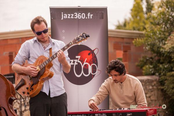 Nicolas Allard, Edward Rogers; Atelier Jazz du Conservatoire Jacques Thibaud, Festival JAZZ360 2019, Quinsac, 09/06/2019