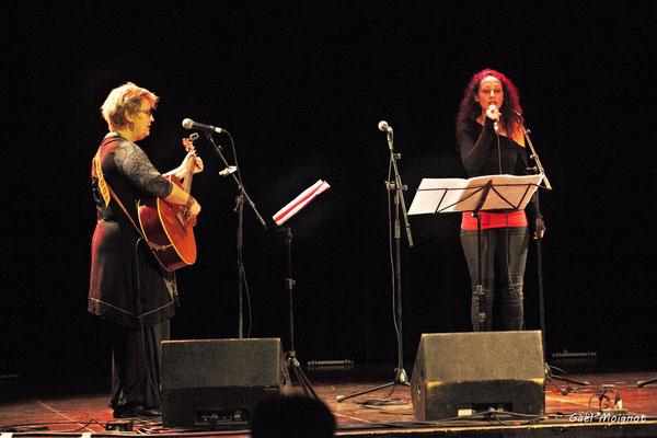 Les Filles Harmoniques photographiées par Gaël Moignot. Les Diapasons de l'AMAC, samedi 2 février 2019