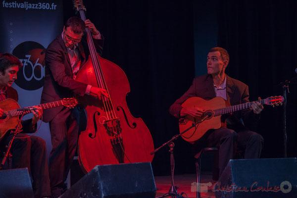 Laurent Vincenza, Sylvain Pourrat, Yannick Alcocer, Minor Sing. Festival JAZZ360 2016, Latresne, 12/06/2016