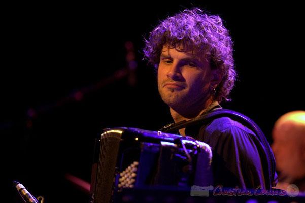 """Vincent Peirani; Daniel Humair Quartet """"Sweet & Sour"""", Festival JAZZ360 2013, Cénac, 08/06/2013"""
