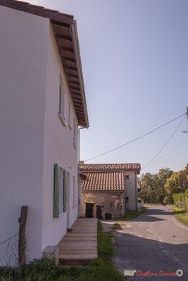 10 Côté est. Allée du Cloutet, Cénac, Gironde. 16/10/2017