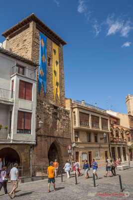 Place Carlos III le Noble, Olite, Navarre / Plaza Carlos III el Noble, Olite, Navarra