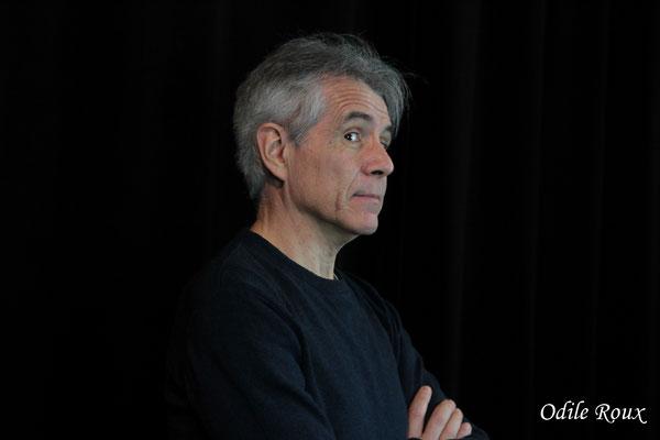 Christian Coulais photographié par Odile Roux. Cénac, samedi 2 février 2019