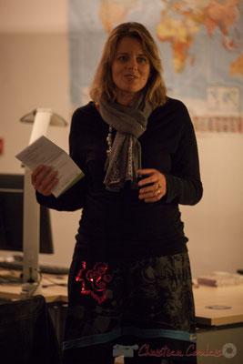 Sandra Pecastaingts. Le Rocher de Palmer, 12/12/2015. Reproduction interdite - Tous droits réservés © Christian Coulais