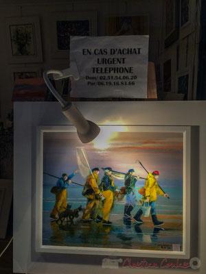 """""""En cas d'achat urgent"""" Galerie du peintre Olivier Pierre WELKENHUYZEN, Rue Achard, Saint-Gilles-Croix-de-Vie, Vendée, Pays de la Loire"""