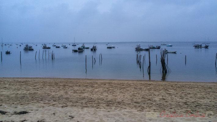 Boulevard de la Plage, le Bassin d'Arcachon, village de l'Herbe, presqu'ïle du Cap Ferret, Gironde, Aquitaine
